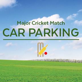 Cricket Match Car Parking